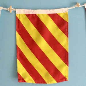 Decorative Signal Flag - Y
