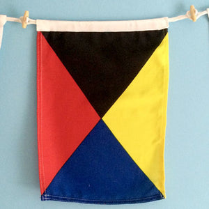 Decorative Signal Flag - Z