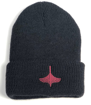 Wool Watch Cap - Red Logo