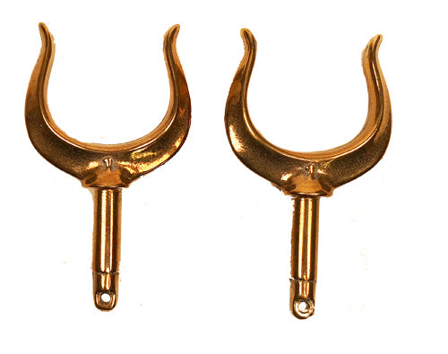 Oarlocks Horns Open - Set of 2