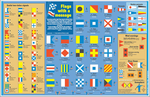 Flags and Maine Sailing Vessels Placemat*