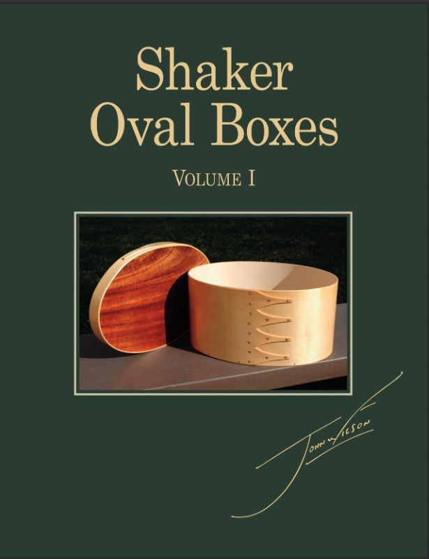 Shaker Oval Boxes  Volume 1
