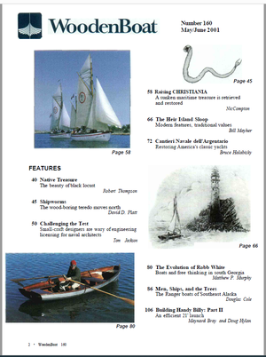 Issue #160 May/June  2001