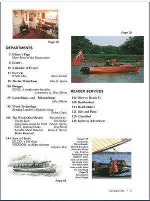 Issue #161 July/Aug 2001