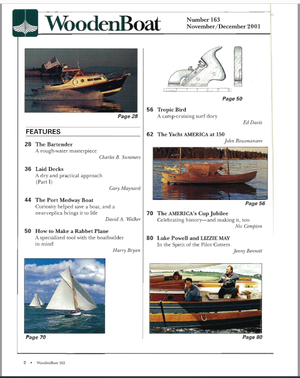 Issue #163 Nov/Dec 2001