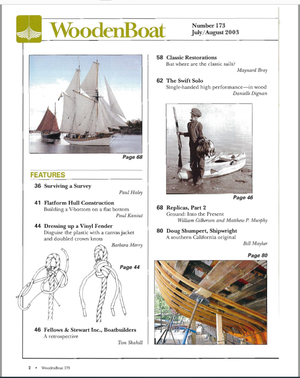 Issue #173 July/ Aug. 2003
