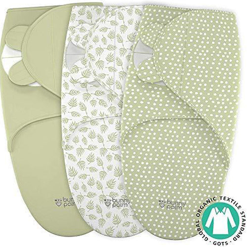 Swaddle Blanket for Baby, Organic Cotton, 3 Bags