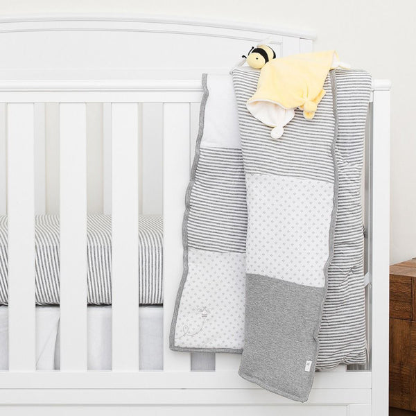 Organic Reversible Baby Quilt