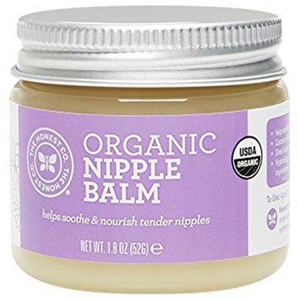 Organic Nipple Balm, 1.8 Ounces