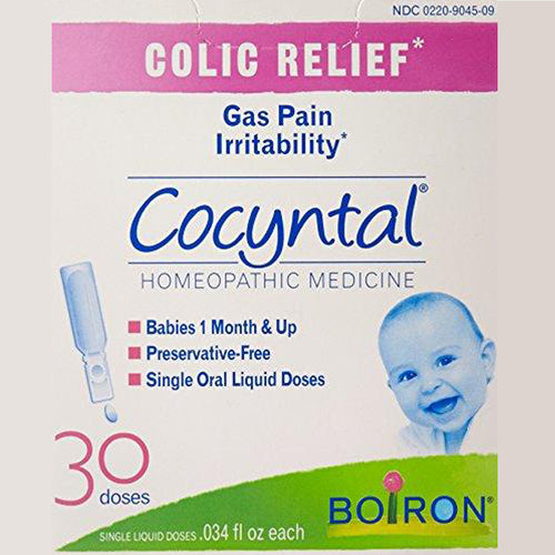 Cocyntal Baby Colic Relief Medicine, 30 Doses. Natural Active Ingredient