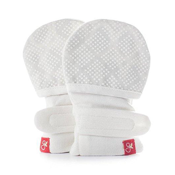 Unisex Baby Diamond Dots Mitts - 3-6 Months