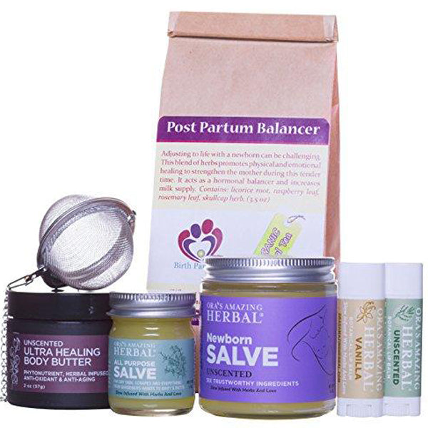 New Mama Gift Set Natural