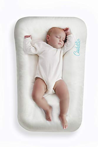 Baby Lounger - Seat for Co-Sleeping - Organic Cotton - 0-6 Months