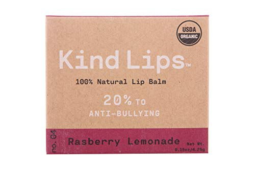 Organic Lip Balm Set - 100% Natural Ingredients