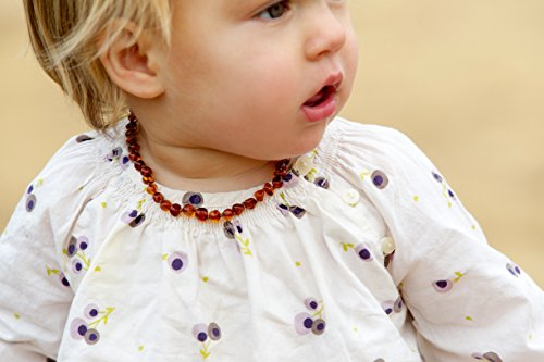 Teething Necklace For Babies - Natural