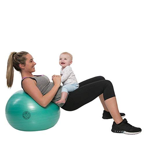 Birthing Ball for Pregnancy - Labor Ball + Exercises Guide