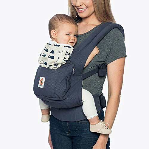 Original 3-Position Baby Carrier with Lumbar Support and Storage Pocket