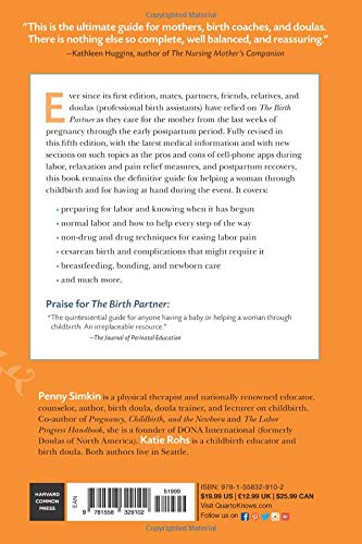 Birth Partner 5th Edition: A Complete Guide to Childbirth for Dads, Partners, Doulas, and All Other Labor Companions