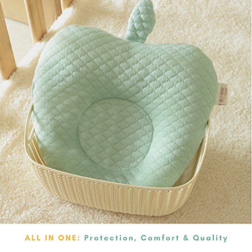 Newborn Pillow to Prevent Flat Head Syndrome or Plagiocephaly
