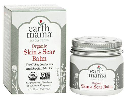 Organic Skin & Scar Balm for C-Section Scars and Stretch Marks