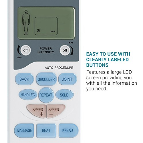 TENS Electronic Pulse Unit & 4 Electrode Pads