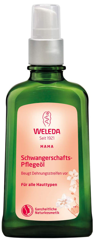 Weleda: Pregnancy Body Oil for Stretch Marks, 3.4 Ounce