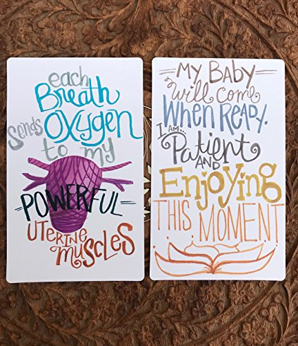 Pregnancy & Birthing Support Affirmation Deck
