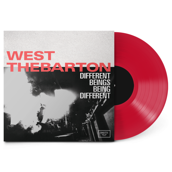 West Thebarton - Different Beings Being Different LP Ruby Red