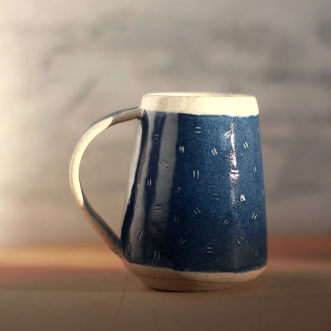 Speckled & Blue Ceramic Mug