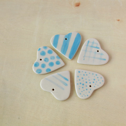 Ceramic Gift Tags - Blue