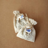 Blue and White Gift Tags - Set of 9