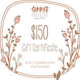 A Summer Freckles Gift Certificate