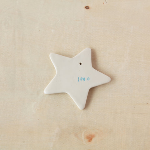 Ceramic Gift Tags - Stars