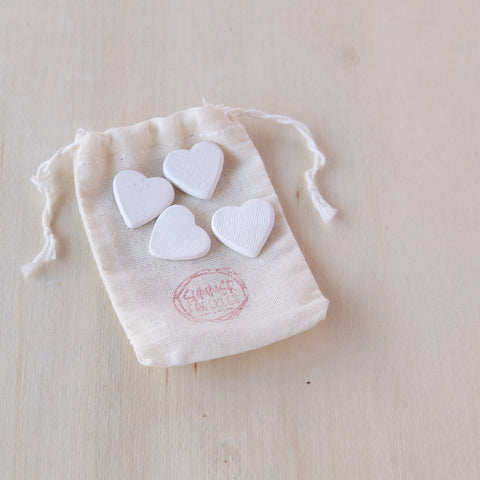 Ceramic Scented Hearts