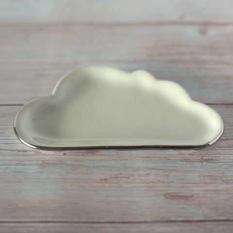 Cloud Dish with Silver Lining