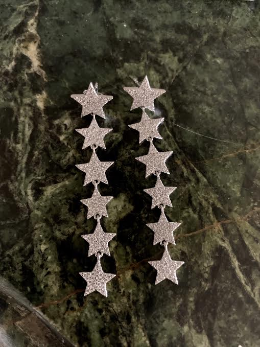 Star Drop Earrings - Glamour Manor