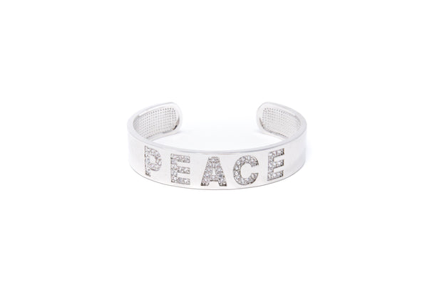 Peace Bangle - Glamour Manor
