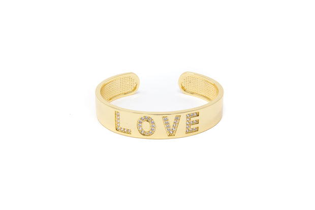 LOVE Bangle - Glamour Manor