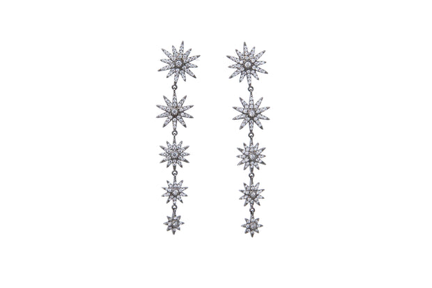 Starburst Drop Earrings - Glamour Manor