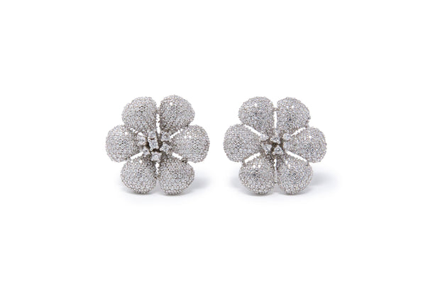 Flower Stud Earrings - Glamour Manor