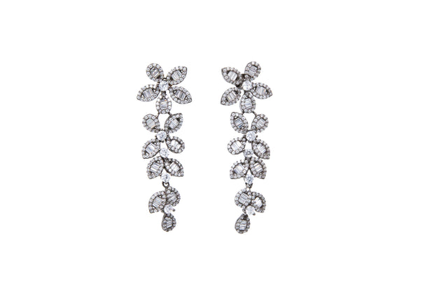 Dangling Flower Earrings - Glamour Manor