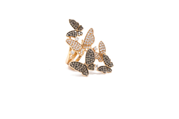 Butterfly Cluster Ring - Glamour Manor