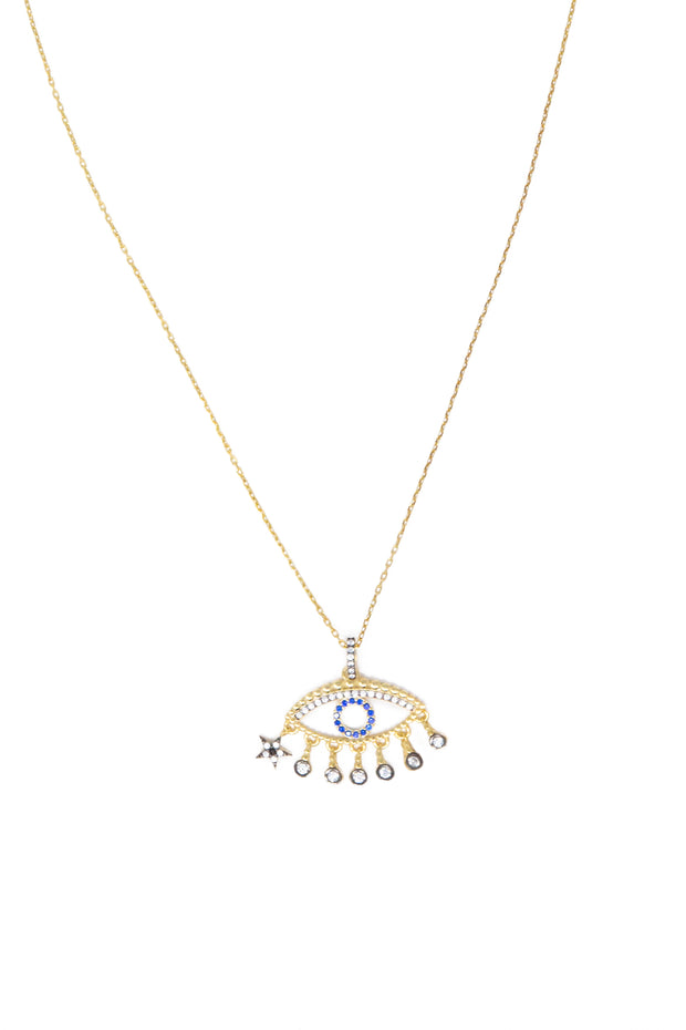 Evil Eye Necklace - Glamour Manor