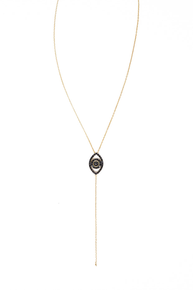 Evil Eye Drop Necklace - Glamour Manor