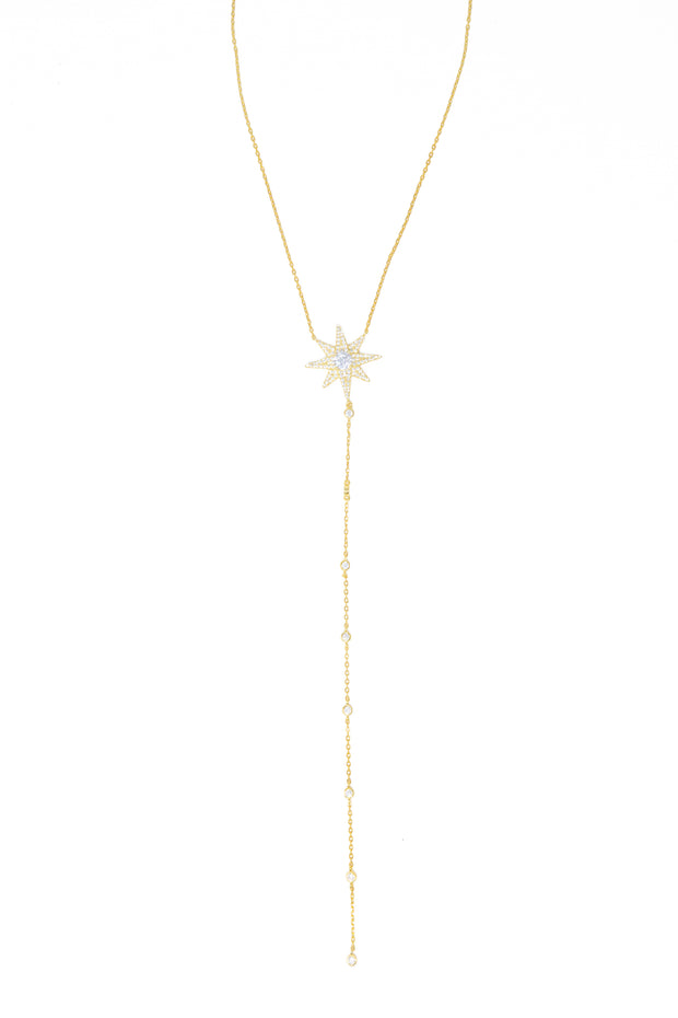 Star Lariat Necklace - Glamour Manor