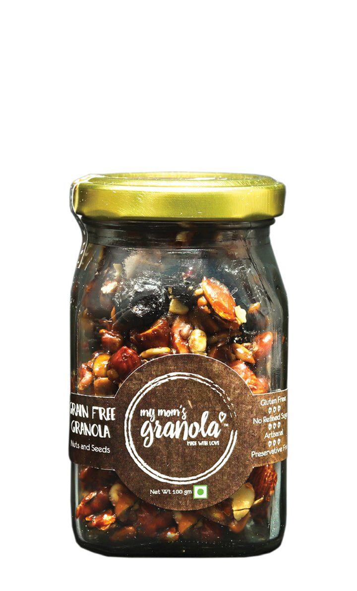 My Mom's Original Granola, Glass Jar 100 gms