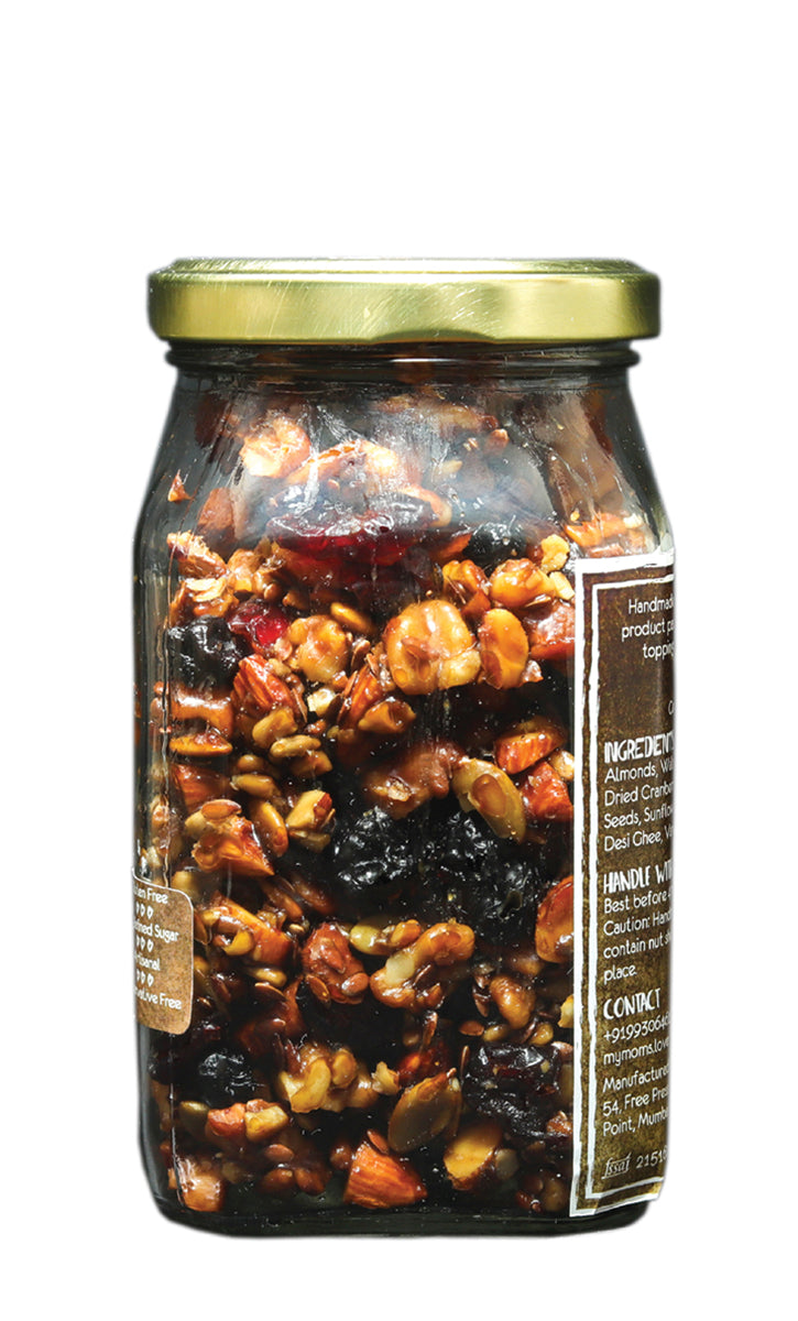 My Mom's Original Granola, Glass Jar 200 gms
