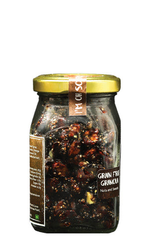 My Moms Cacao Orange Granola, Glass Jar 100 gms