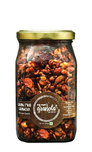 My Mom's Vegan Granola, Glass Jar 200 gms