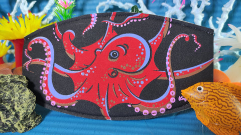 Watakala - Tenggol the Octopus Mask Strap